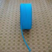 彩色素面鬆緊帶(土耳其藍色)/彈力繩/口罩繩/綁髮帶