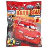 〔小禮堂〕迪士尼 閃電麥坤 造型入浴球《4款隨機.黑紅.大臉》入浴劑.泡澡球 4535304-67720