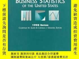 二手書博民逛書店Business罕見Statistics Of The United States (1998 Edition)奇