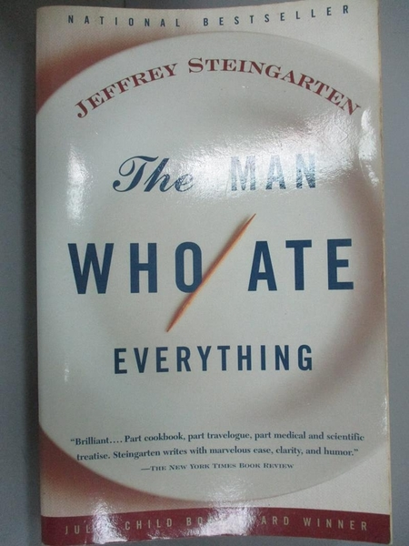 【書寶二手書T8/原文書_KLU】The Man Who Ate Everything-And Other Gastro