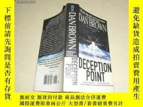 二手書博民逛書店DAN罕見BROWN DECEPTION POINT11398
