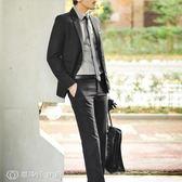 西裝 dansier 男士西服韓版修身休閒加厚西裝男裝外套斷碼 【創時代3C館】