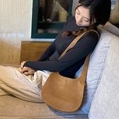 真皮肩背包-日系簡約純色羊皮女手提包2色73yq38[時尚巴黎]