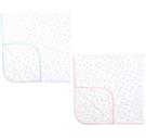 【VIVIBABY】迪士尼超柔四方紗布大浴巾(DBJ69651P粉/DBJ69662B藍) 435元