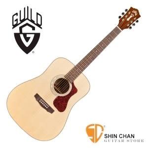 美國經典品牌 Guild D-140 標準D桶/全單板吉他(雲杉面板/非洲桃花心木側背板)附原廠袋/軟Case