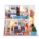 拼圖diy兒童木質3d立體拼圖手工拼裝房子模型成年減壓大型益智玩具女 衣間迷你屋