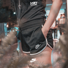 IMPACT Nike Sportswear Heritage Short 黑 網眼 短褲 真理褲 BV4851-010