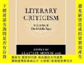 二手書博民逛書店The罕見Cambridge History Of Literary Criticism, Vol. 2Y25