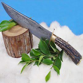 郭常喜與興達刀具--郭常喜限量手工刀品-大獵刀(A0034)