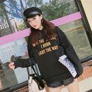 【GZ2C1】長袖帽T 原宿風寬鬆加厚連...