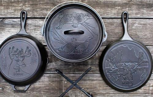 [COSCO代購] W1426274 Lodge 美國製鑄鐵露營鍋具五件組