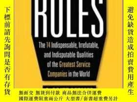 二手書博民逛書店The罕見Customer Rules: The 14 Indi