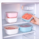 冰箱密封水果冷凍保鮮盒飯盒圓形便當碗小號塑料餐盒食品收納盒子 618購物節 YTL
