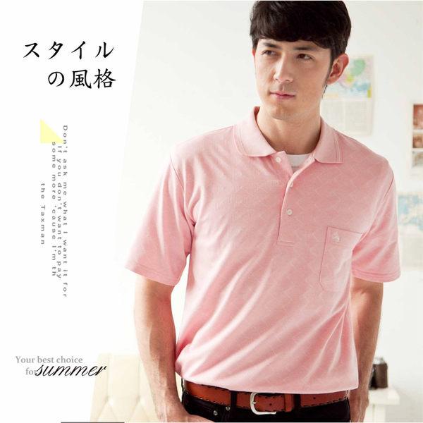 【大盤大】(P51671) 春夏 男 運動polo衫 口袋棉衫 高爾夫 短袖上衣 生日 情人節 爸爸 有加大尺碼