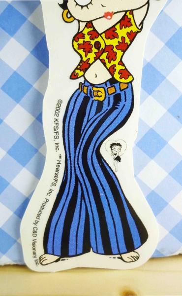 【震撼精品百貨】Betty Boop_貝蒂~貼紙-跳舞