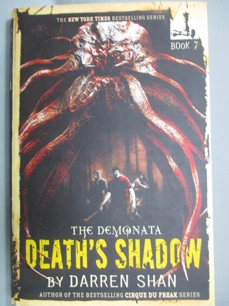 【書寶二手書T3/原文小說_LPS】Death's Shadow_Shan, Darren