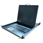 短軌型 17吋LCD單埠KVM (KVM6500-17S) SUNBOX