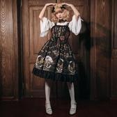 洛麗塔洋裝連身裙宮廷復古吊帶裙【奇趣小屋】