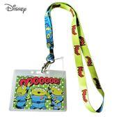 日本限定 迪士尼 玩具總動員 三眼怪 點點 掛繩頸帶  票卡夾 / 識別證 卡套