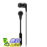 [104美國直購] Skullcandy Ink d 2.0 耳塞式耳機  麥克風 (黑色)  S2IKDY-003