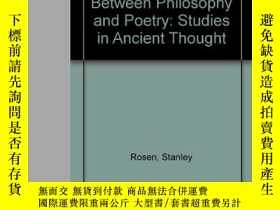 二手書博民逛書店The罕見Quarrel Between Philosophy And PoetryY364682 Stanl