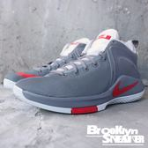 NIKE ZOOM WITNESS EP 銀灰紅 籃球鞋 男 (布魯克林) 884277-005