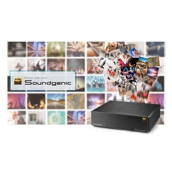 (贈QED usb訊號線) I-O DATA Soundgenic(HDL-RA4TB) 網路音頻伺服器【先鋒公司貨保固+免運】