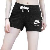 Nike Wmns Gym Vintage 女 黑灰雪花 短褲 運動 慢跑 休閒 棉質短褲 瑜珈 883734010
