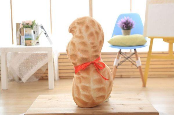 仿真花生抱枕 兒童絨玩具娃娃 婚慶 生日禮物【Mr.1688先生】