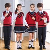 兒童大合唱團演出服中小學生詩歌朗誦服裝幼兒園班服歌詠比賽服裝 童趣屋