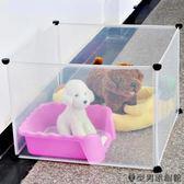 寵物圍欄 - 狗窩透明隔離門jy【快速出貨好康八折】