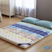 床墊加厚床墊1.5m床1.8米褥子單人雙人床褥1.2米宿舍墊被折疊地鋪睡墊wy (一件免運)