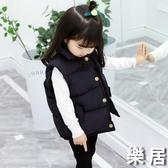 女童馬甲 冬季外穿兒童羽絨棉馬甲秋冬加厚正韓女孩外套寶寶馬夾男【快速出貨】