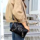 Catsbag 斜背包 經典時尚二用機車包長夾 26256