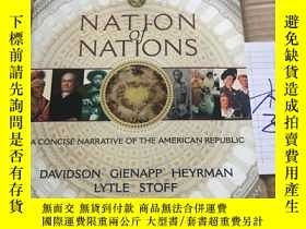二手書博民逛書店Nation罕見of Nations A CONCISE NAR
