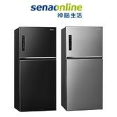 Panasonic 2門鋼板650L電冰箱NR-B651TV-S/K (晶漾銀/晶漾黑) 神腦生活
