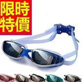 泳鏡-抗UV浮潛游泳比賽防霧蛙鏡5色56ab20[時尚巴黎]