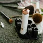 化妝刷 懶人10秒速干電動洗刷器硅膠化妝刷子自動洗刷神器清洗器清潔工具-快速出貨