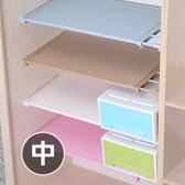 ✭米菈生活館✭【A31】藤編款伸縮分層隔板(中) 櫥櫃 支架 免釘 置物 夾層 收納 免釘 宿舍 鞋櫃