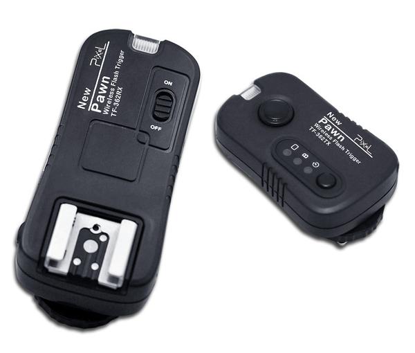 【發射器+接收器】Pixel 品色 Pawn TF-362 無線電双用閃光燈/快門遙控器 FOR NIKON 公司貨
