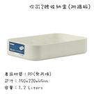 台灣製造 收納盒桌面收納整理內衣物玩具零食工具收納盒箱 你可數字收纳盒 (2號)