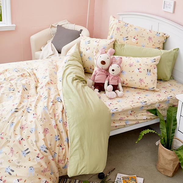 床包 / 單人【妮妮公主】含一件枕套  100%精梳棉  戀家小舖台灣製AAS101