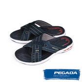 【PEGADA】巴西名品時尚運動涼拖鞋  藍色(31901-BU)