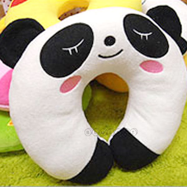 【BlueCat】墨爾本頑皮世界跨欄動物U型枕 午睡枕 護肩頸枕 懶人枕
