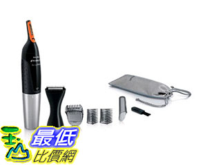 [美國直購] Philips 飛利浦三合一多功能鼻毛耳毛睫毛三用刀 NT5175/49 5100 Nose Facial Hair Trimmer for Men_A01