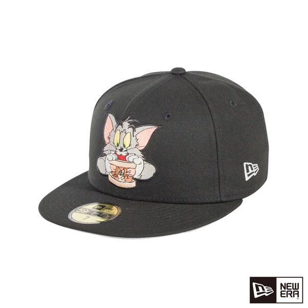 NEW ERA 59FIFTY 5950 湯姆貓與傑利鼠 SW 黑 棒球帽