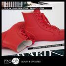 短筒雨鞋 防水鞋 綁帶 歐美時尚中短筒素...