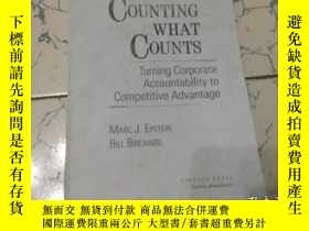 二手書博民逛書店counting罕見what counts [英文版] 數什麼算