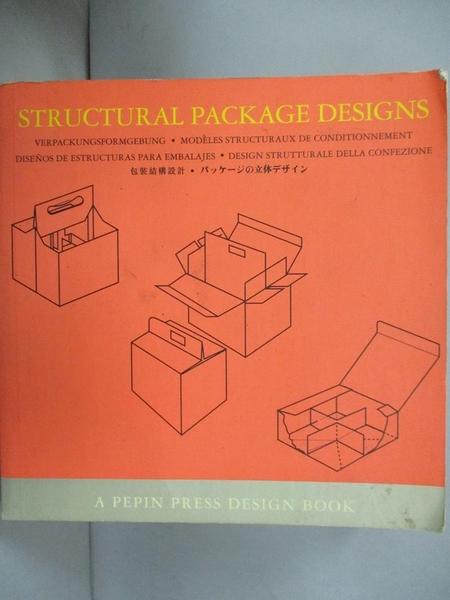 【書寶二手書T9/設計_GNV】Structural Package Designs (Pepin Press Desi