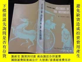二手書博民逛書店英文版:selections罕見from records of the historian(史記選)1979年 2